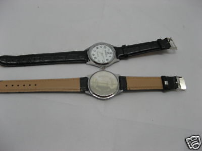 10 Women's Black Leatherette Strap Wrist Watch wa-w134