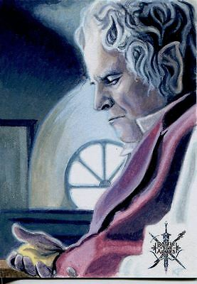 Hobbit Battle Of 5 Armies Sketch Card By Kris Penix
