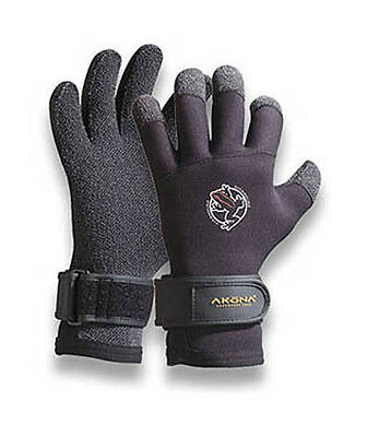 AKONA 3.5mm Scuba Diving Kevlar Gloves NEW Lobster Medium Dive Glove