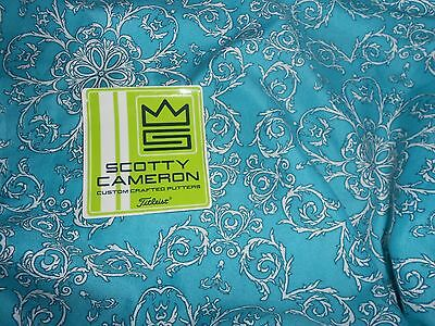 Rare New Scotty Cameron Lime Green Sticker Makes A Nice Father's Day Gift Idea