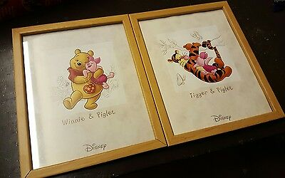 winnie the pooh tigger piglet picture frame a4
