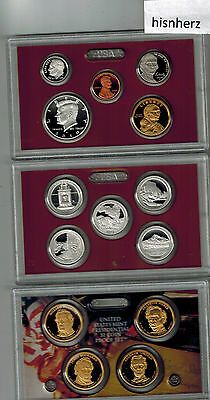 2010-Silver Proof Set United States Mint--With Box & Papers
