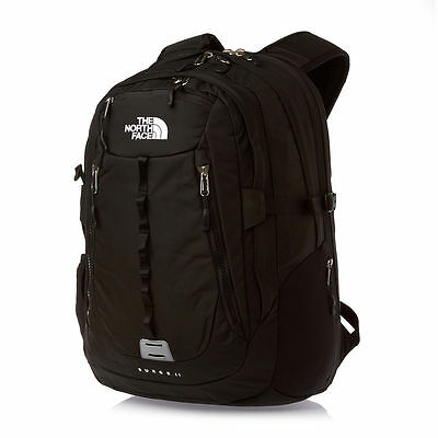 New W/ Tags The North Face Surge 2 Backpack Laptop Approved Black