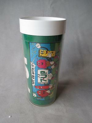 Fabulous Vintage 7-Up Insulated Advertising Glass