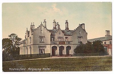 Old Postcard 'Anglesey Hotel' Hednesford