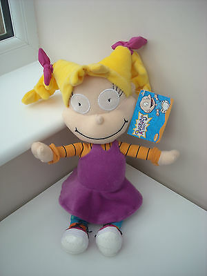 "2001 Viacom Nickelodeon Rugrats Angelica 12"" Soft Toy Tagged"