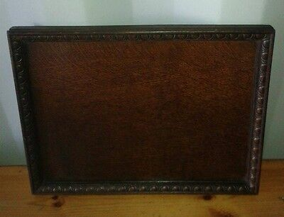 Antique / Vintage Oak Tray