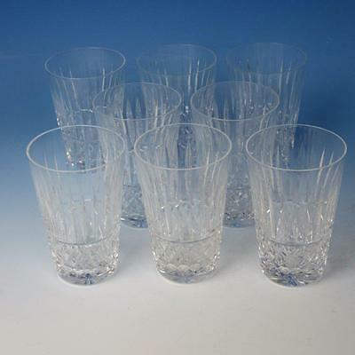 Waterford Crystal - Maeve Tramore - 8 Flat Tumblers - 12 OZ - 5 inches