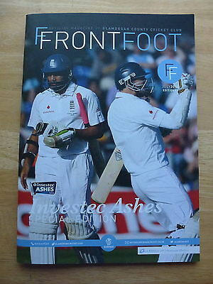 Investec Ashes Series 2015 Special Edition Magazine Issued By Glamorgan Ccc
