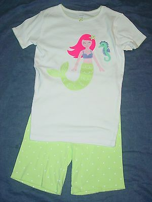 NEW NWT Girls 2 Piece PAJAMAS Set by CARTER'S - Sz 12 - MERMAID