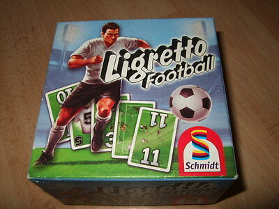 New- Ligretto Football Card Game by Schmidt - Sealed Cards