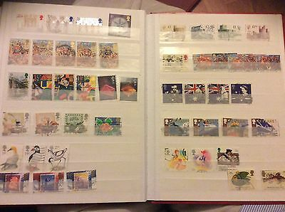 A Collection Of Gb Stamps 1988-1989 Inc. High Values
