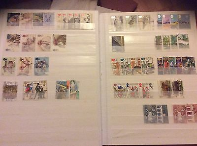 A Collection Of Gb Stamps 1983-1984 Inc. High Values