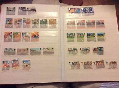 A Collection Of Gb Stamps 1994 Inc. High Values