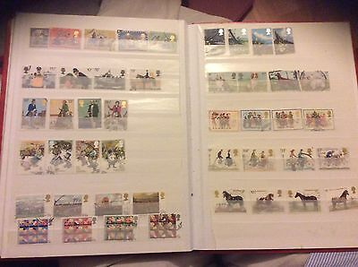 A Collection Of Gb Stamps 1978 - 1979 Inc High Values