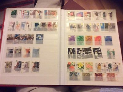 A Collection Of Gb Stamps 1974-1976 Inc High Values