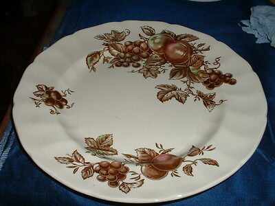 Vintage Johnson Brothers Staffordshire Pottery Dinner Plate