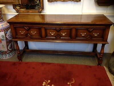 Beautiful distressed Oak French dresser , fantastic condition