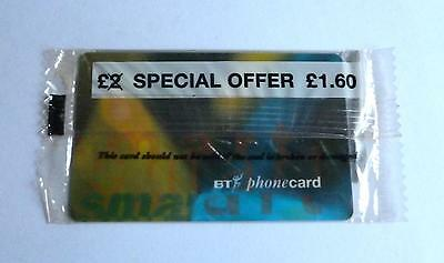 Bt / £2 Special Offer £1.60  /  Mint Sealed Phonecard