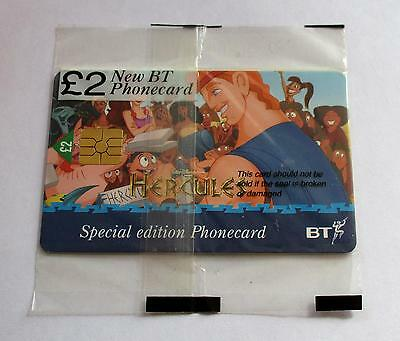 Bt / Walt Disney Hercules (A) / Mint Sealed Special Edition  Phonecard