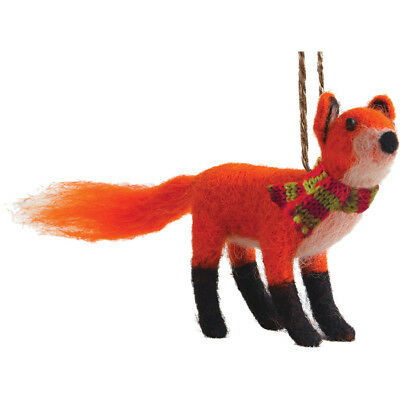 Outside Inside Felted Red Fox
