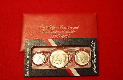 Mint Sets Special 1976 3-Piece Silver Mint Set-40% Silver) Low Combined Shipping