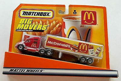 "1999 MCDONALD'S Big Rig - Matchbox ""Big Movers"""