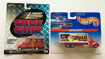 MCDONALD'S Johnny Lightning Truck - HOT WHEELS Hauler