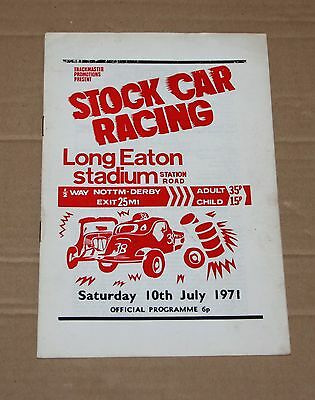 1971 Long Eaton Brisca F1 stock car programme, 10 July
