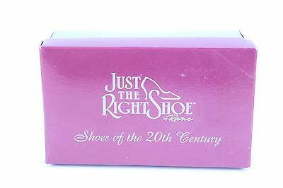 """Nice Raine Just The Right Shoe """"courtly Riches"""" W/ Box & Paperwork Lot #14"""