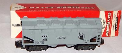 American Flyer 24209 CRP Central New Jersey Cement covered hopper knuckle cp CNJ