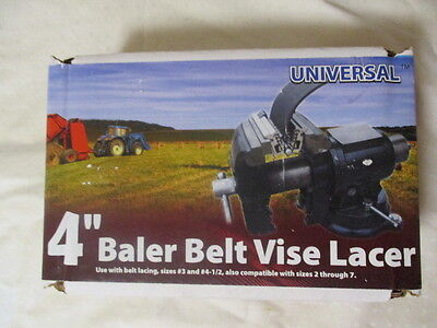 "Brand New Universal R-4"" Clipper Baler Belt Vise Lacer (Item 03018)"