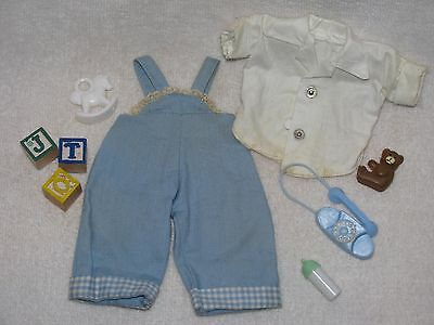"""8"""" Vintage Tagged Vogue Ginnette Baby Boy Doll Clothes & Toys"""