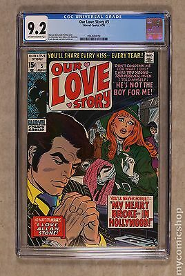 Our Love Story (1969) #5 CGC 9.2 0962694014