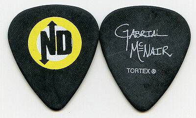 NO DOUBT 2009 Summer Tour Guitar Pick!!! GABRIAL McNAIR custom concert stage #1