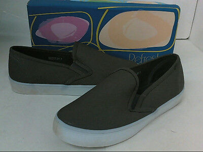 NEW Refresh Women's Slip-On Fashion Sneakers Grey 7 $120 - READ