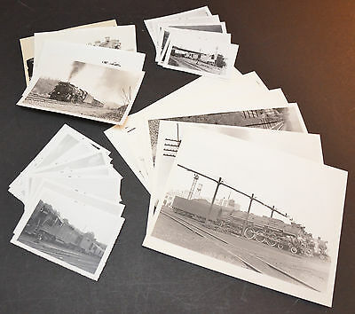 Lot of 24 Chesapeake & Ohio B&W Vintage Photos