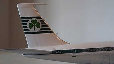 In Flight,  Aerlingus Irish International  Boeing 707-320 Jetliner, 1/200 Scale