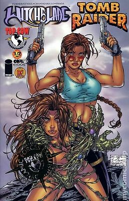 Witchblade Tomb Raider (1998) 1/2 #1DFGOLD FN/VF 7.0