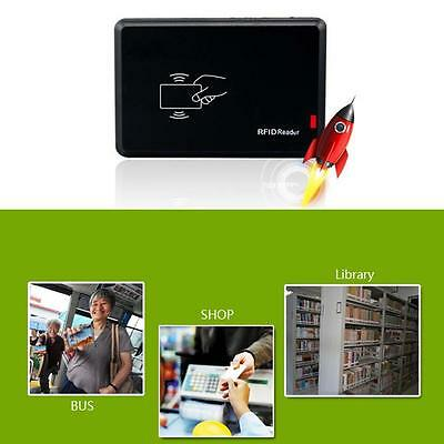 USB 125Khz EM4100 EM410X RFID Contactless Proximity Sensor ID Smart Card Read BS