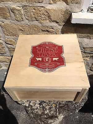 Wooden Box for Storage or Gift
