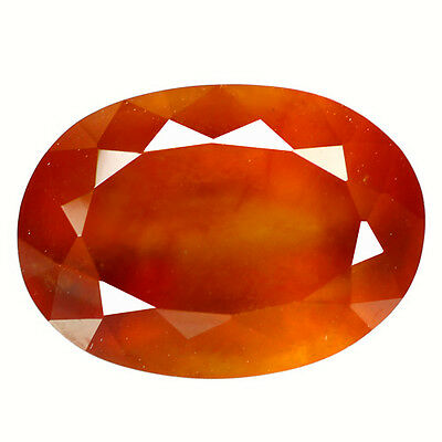 8.88Ct Dazzling Oval Cut 13 x 10 mm 100% Natural AAA Hessonite Garnet