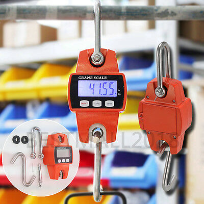 300kg/600lb Digital Crane Scale with Mini Hook