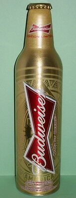 Budweiser Aluminum Beer Bottle #5033766 - 2014 FIFA World Cup - From Canada