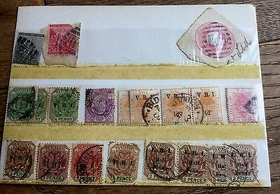 Sheet Of Stamps From South Africa  From 1900's Including Cape Of Good Hope