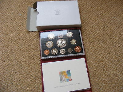 Royal Mint Proof Set 1998 Red Case, Outer Box + COA