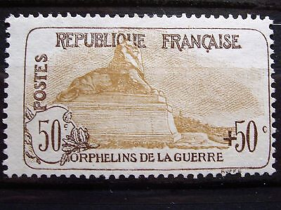 France N° 153 Orphelin Neuf Gomme Sans Charniere Ni Trace