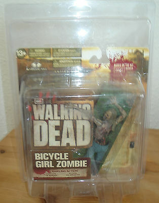 McFarlane Toys Series 2 The Walking Dead Bicycle Girl Zombie Figure  NEU/OVP