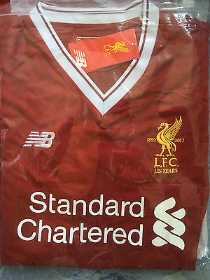 Liverpool Home Shirt 2017 2018 Adult Large to 4XL Sizes New with Tags