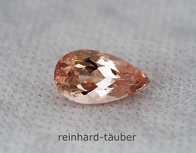 EXELLENTER  MORGANIT MORGANITE ROSA BERYL 8,24ct